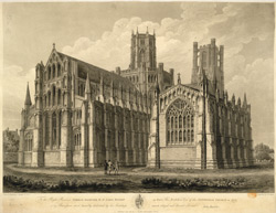 North East View of the Cathedral Church of Ely
